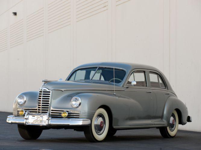 1947 Packard Clipper retro wallpaper