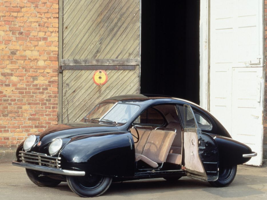 1947 Saab UrSAAB retro interior wallpaper