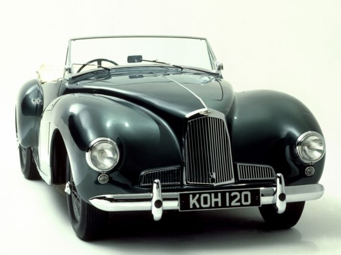 1948 Aston Martin DB1 retro wallpaper