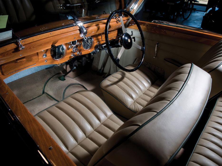 1948 Delahaye 135 M Cabriolet retro luxury interior wallpaper