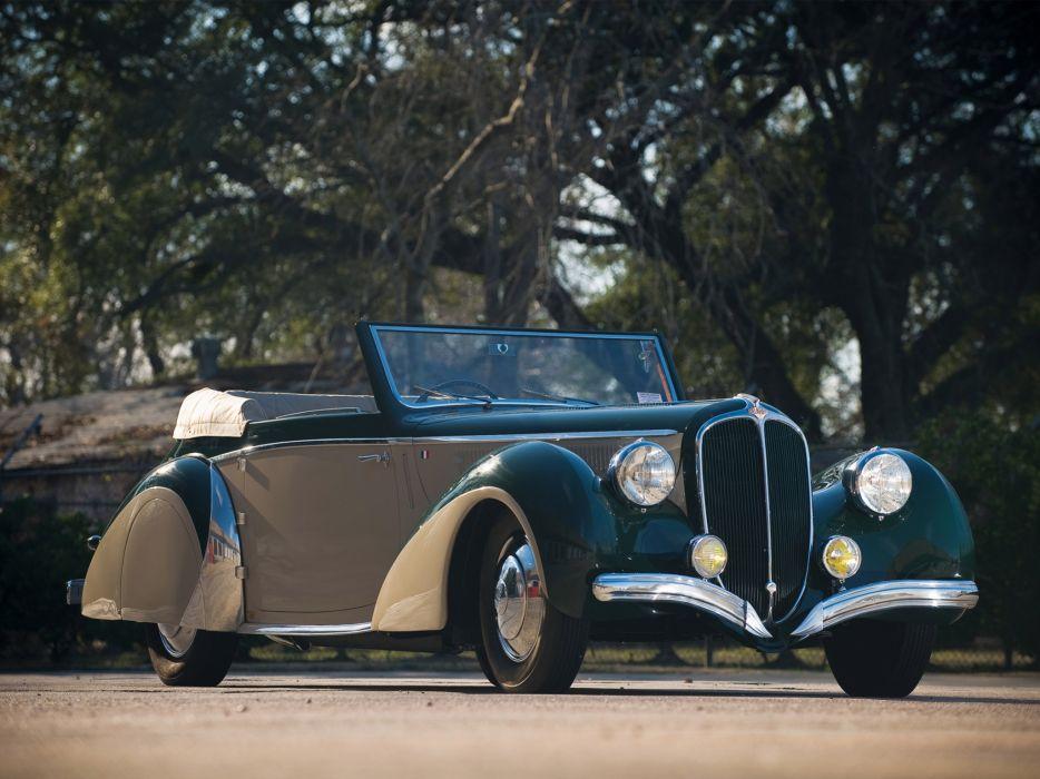 1948 Delahaye 135 M Cabriolet retro luxury wallpaper