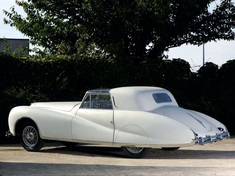 1948 Delahaye 175S Coupe DeVille Aerodynamic luxury retro      s wallpaper
