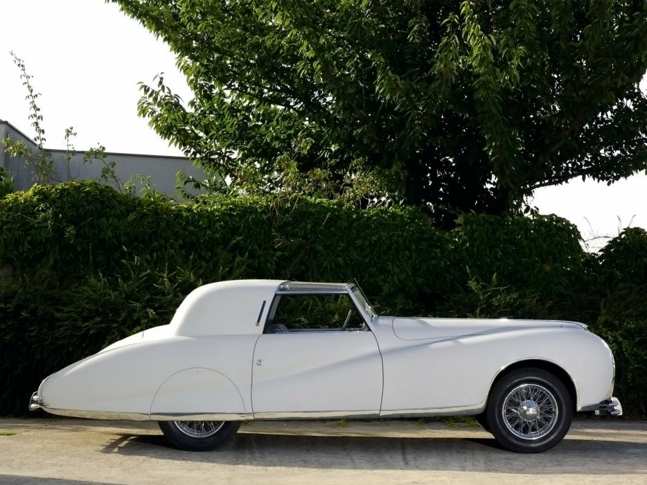 1948 Delahaye 175S Coupe DeVille Aerodynamic luxury retro   d wallpaper