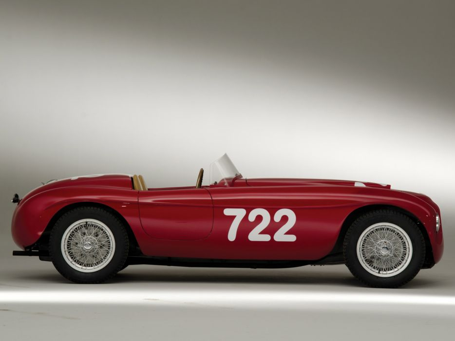 1948 Ferrari 166 Inter Spider Corsa retro race racing supercar supercars  s wallpaper