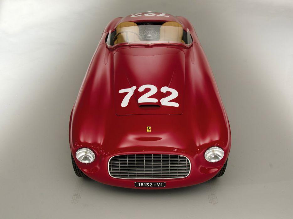 1948 Ferrari 166 Inter Spider Corsa retro race racing supercar supercars   d wallpaper