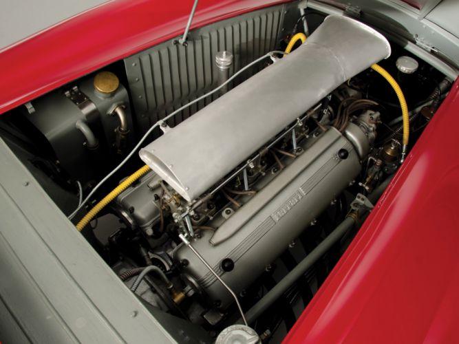 1948 Ferrari 166 Inter Spider Corsa retro race racing supercar supercars engine engines wallpaper