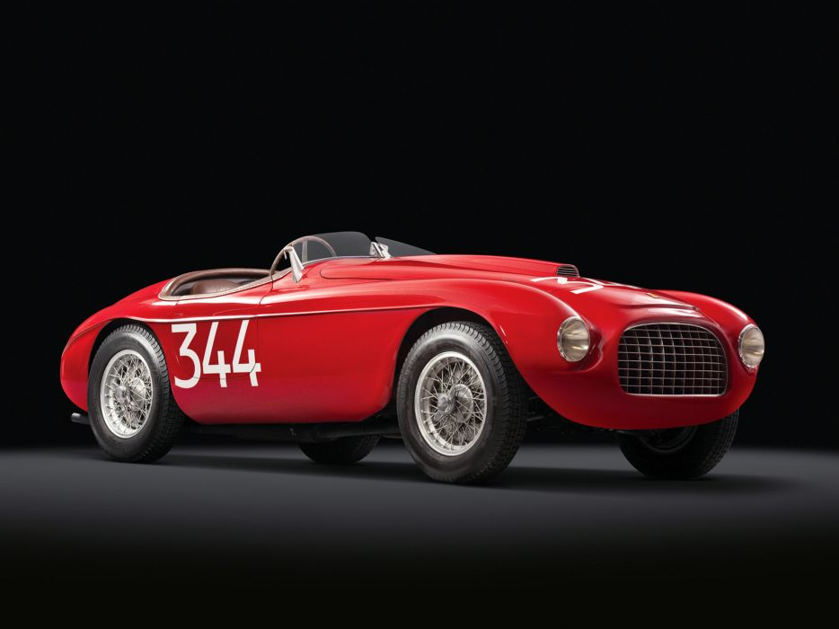 1948 Ferrari 166 MM Touring Barchetta retro supercar supercars    d wallpaper