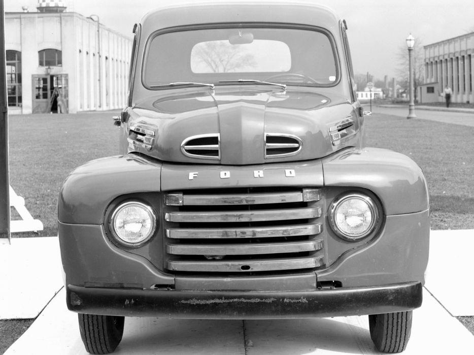 1948 Ford F-1 Pickup truck retro    f wallpaper
