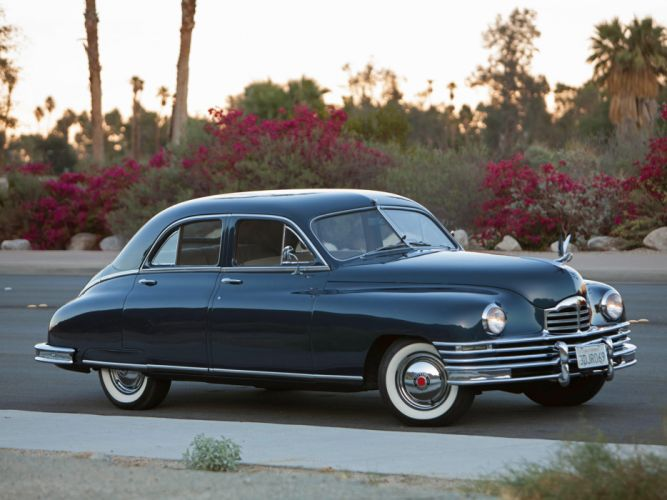 1948 Packard Deluxe Eight Touring Sedan retro luxury d wallpaper