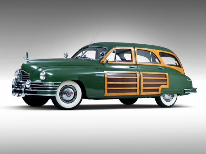 1948 Packard Eight Station Sedan retro luxury f wallpaper