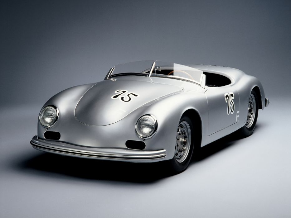1948 Porsche 356 Roadster retro wallpaper