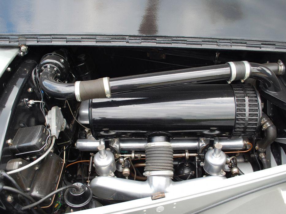 1949 Bentley Mark VI Drophead Coupe v-i retro luxury engine engines wallpaper
