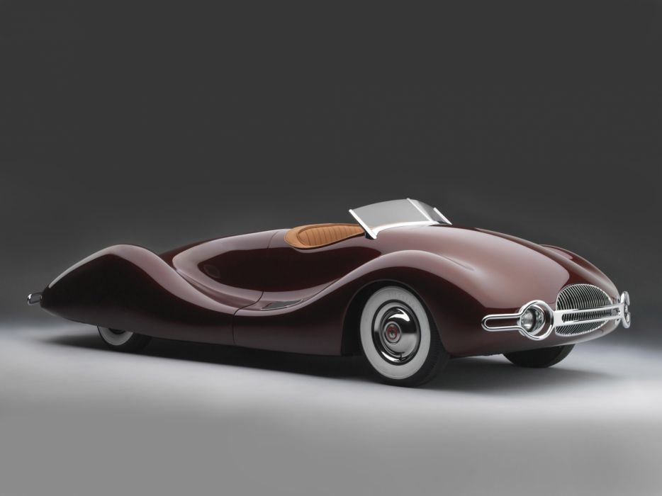 1949 Buick Streamliner retro custom supercar supercars concept   f wallpaper