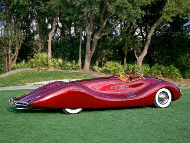 1949 Buick Streamliner retro custom supercar supercars concept d wallpaper