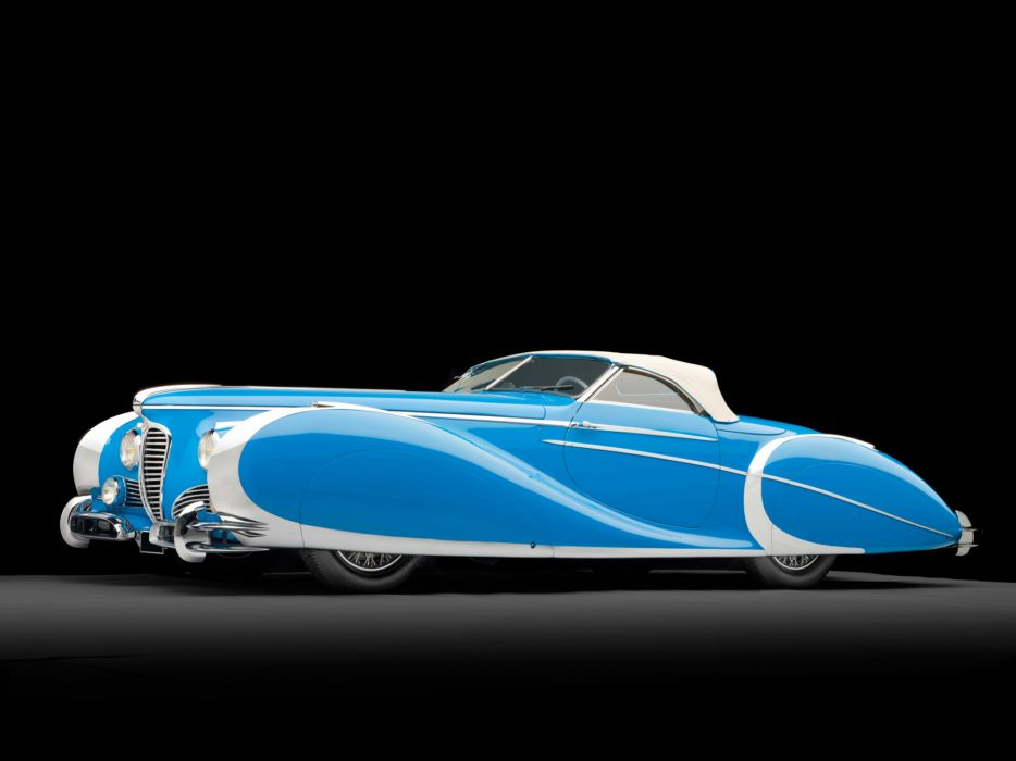 1949 Delahaye 175 S Saoutchik Roadster retro supercar supercars luxury      d wallpaper