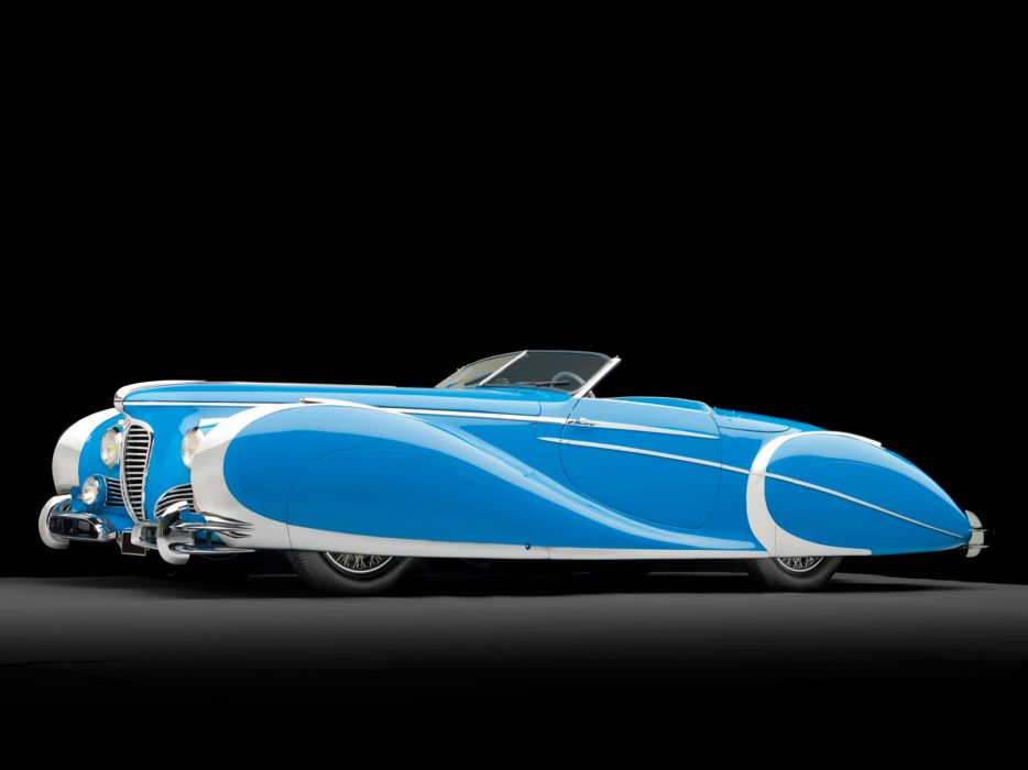 1949 Delahaye 175 S Saoutchik Roadster retro supercar supercars luxury  d wallpaper