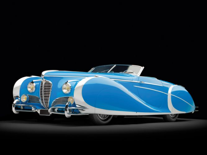 1949 Delahaye 175 S Saoutchik Roadster retro supercar supercars luxury wallpaper