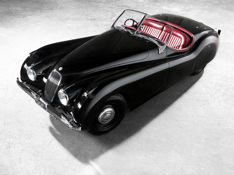 1949 Jaguar XK 120 Roadster x-k retro sportcar        f wallpaper