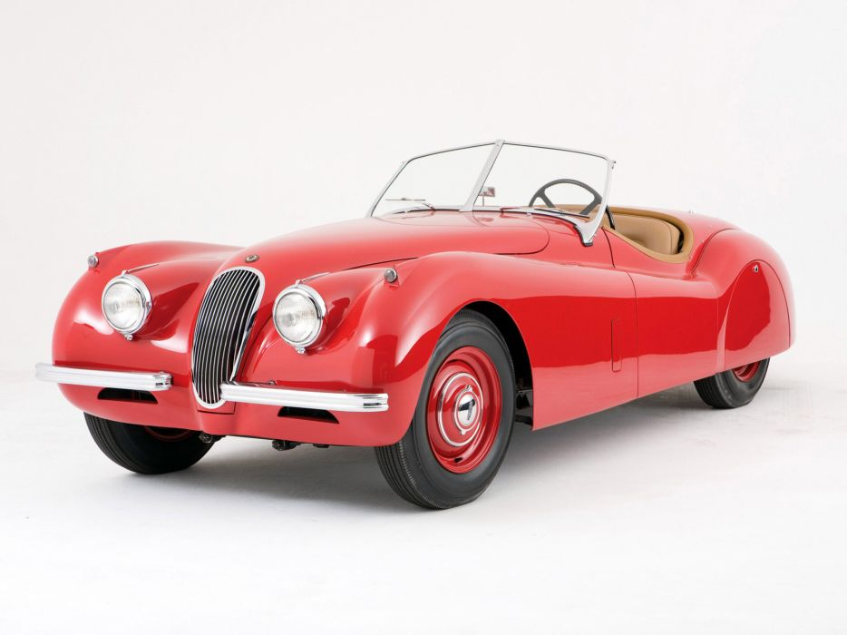 1949 Jaguar XK 120 Roadster x-k retro sportcar   f wallpaper