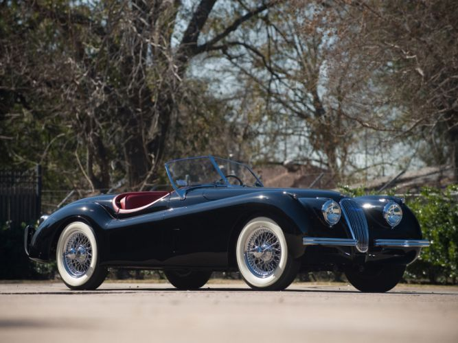 1949 Jaguar XK 120 Roadster x-k retro sportcar g wallpaper