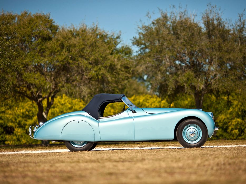 1949 Jaguar XK120 Alloy Roadster retro sportcar    g wallpaper