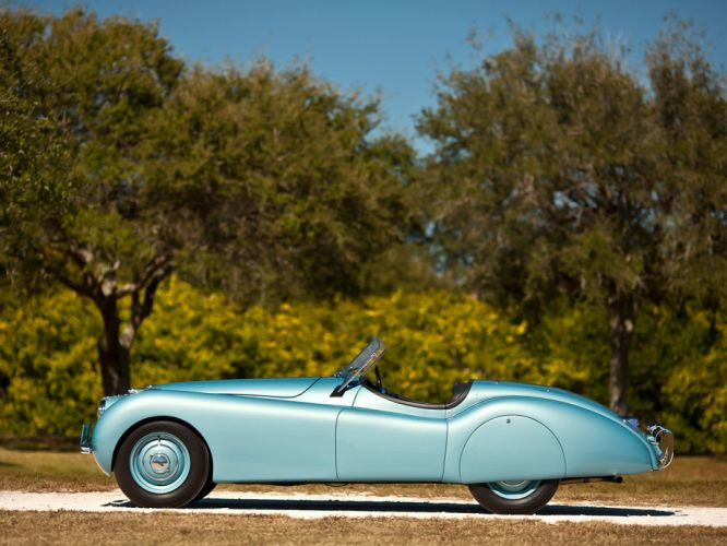 1949 Jaguar XK120 Alloy Roadster retro sportcar q wallpaper