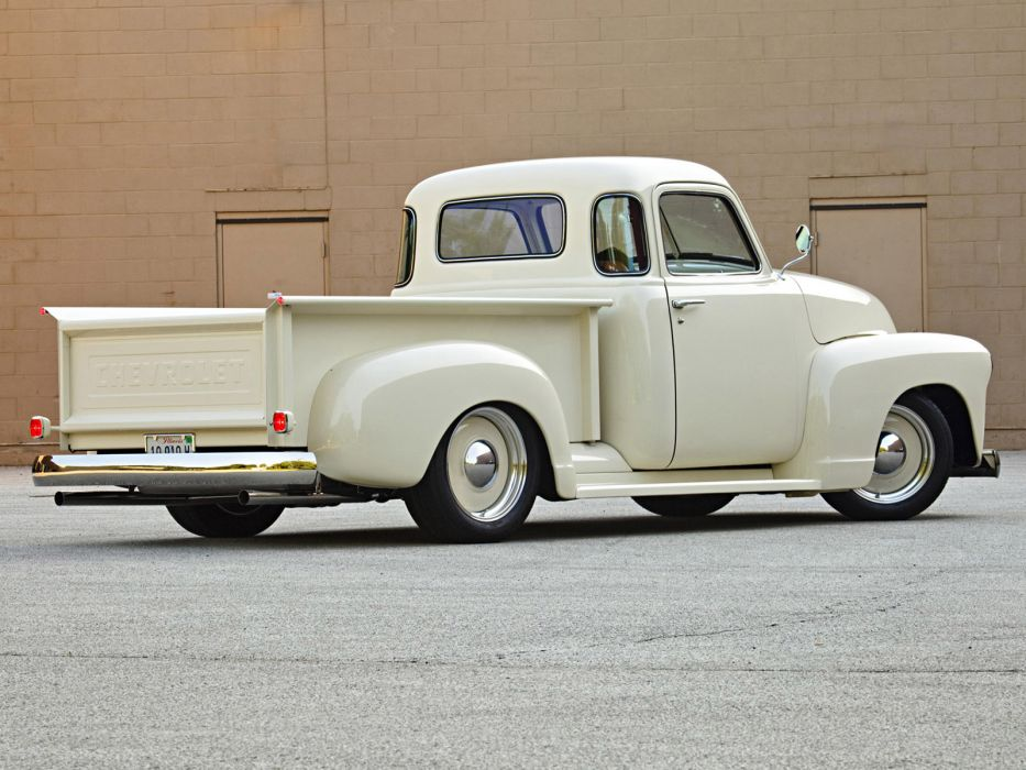 1949 Roadster Shop Chevrolet Pickup truck lowrider retro custom hot rod rods f wallpaper