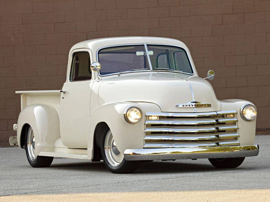 1949 Roadster Shop Chevrolet Pickup truck lowrider retro custom hot rod rods wallpaper