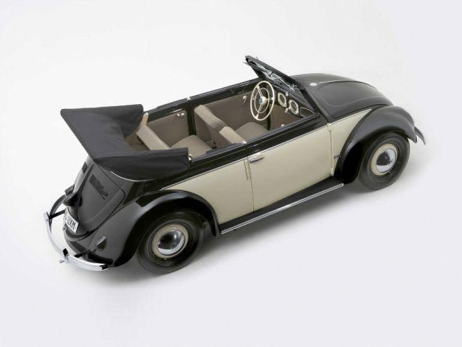 1949 Volkswagen Beetle Karmann Cabriolet retro j wallpaper