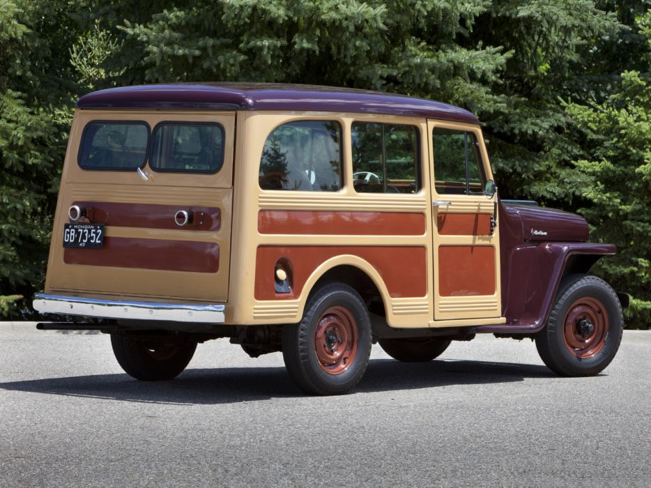 1949 Willys StationWagon jeep 4x4 retro   h wallpaper