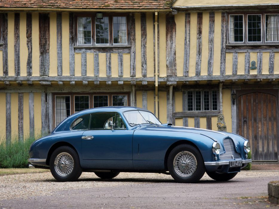 1950 Aston Martin DB2 retro  z wallpaper
