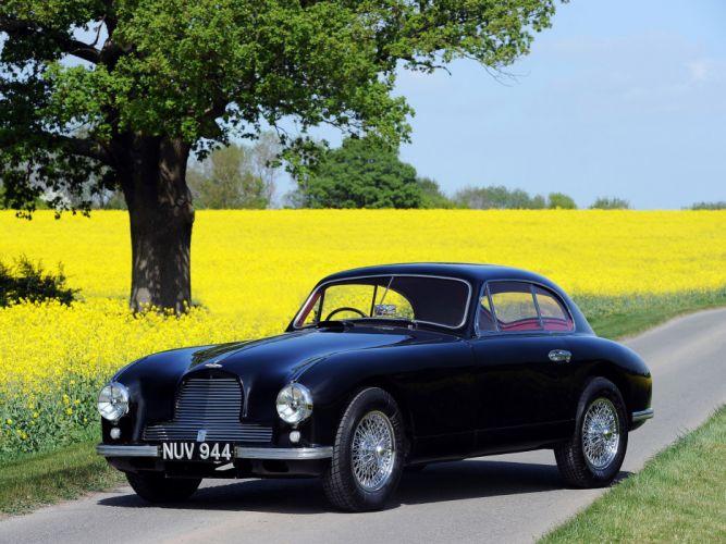 1950 Aston Martin DB2 retro v wallpaper
