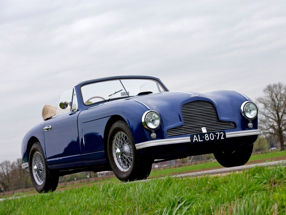 1950 Aston Martin DB2 Vantage Drophead Coupe retro      g wallpaper
