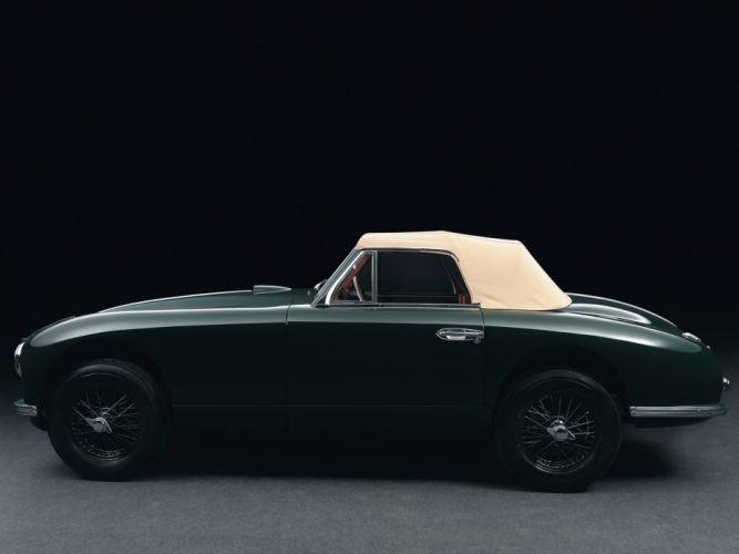 1950 Aston Martin DB2 Vantage Drophead Coupe retro n wallpaper