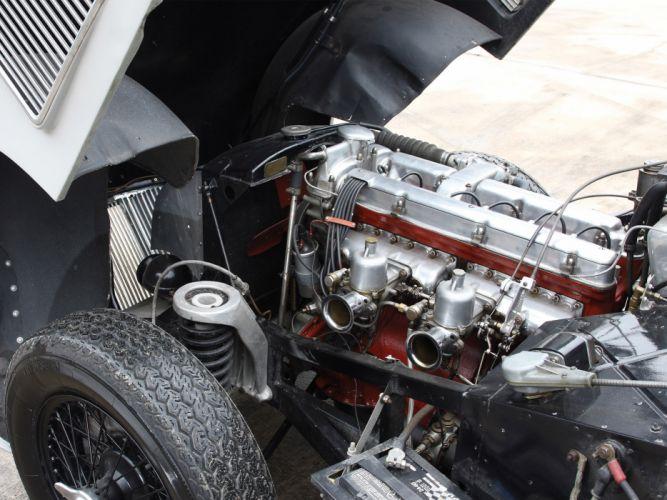 1950 Aston Martin DB2 Vantage Saloon retro engine engines f wallpaper