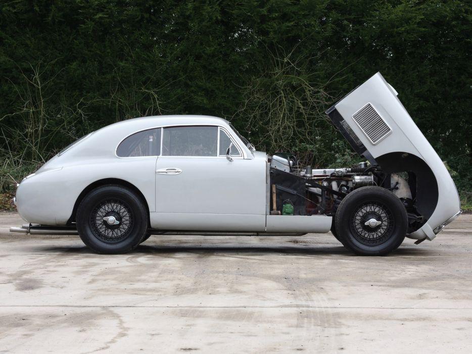 1950 Aston Martin DB2 Vantage Saloon retro engine engines wallpaper