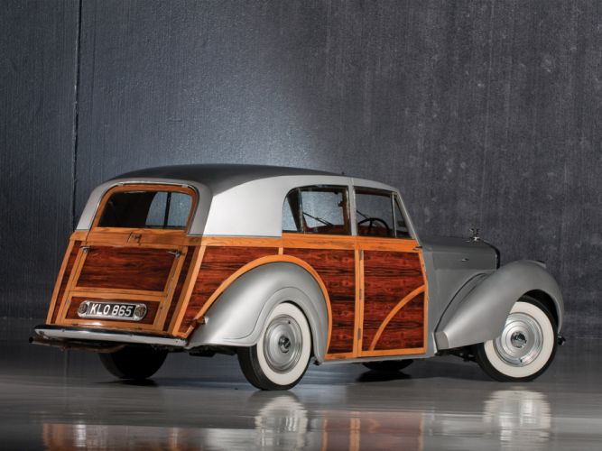 1950 Bentley Mark VI Radford Countryman retro luxury g wallpaper