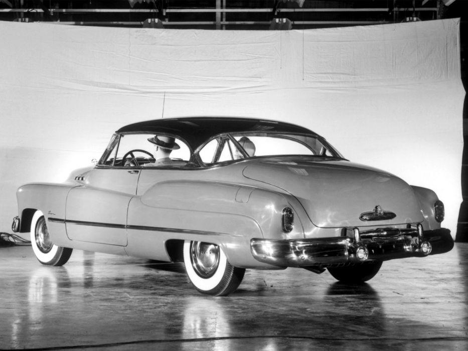 1950 Buick Super Riviera Hardtop 56R retro  g wallpaper