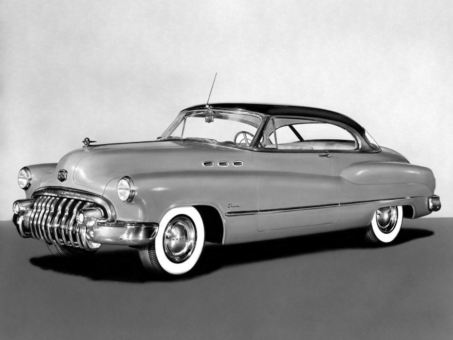1950 Buick Super Riviera Hardtop 56R retro wallpaper