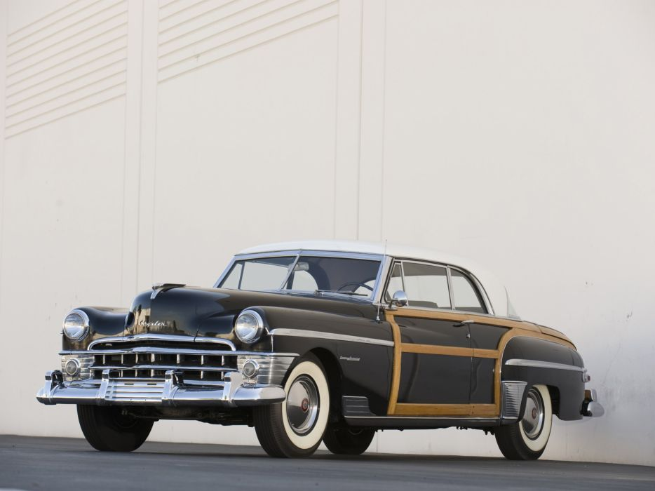 1950 Chrysler Town & Country Newport Coupe retro wallpaper
