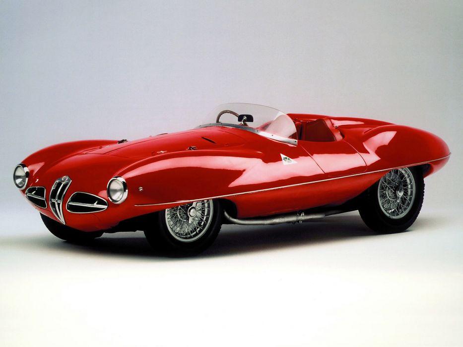 1951 Alfa Romeo 1900 C52 Disco Volante Spider Retro Supercar