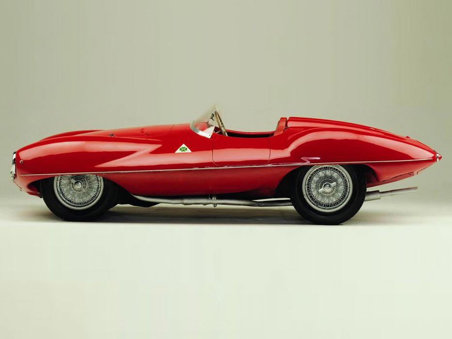 1951 Alfa Romeo 1900 C52 Disco Volante Spider retro supercar supercars    g wallpaper