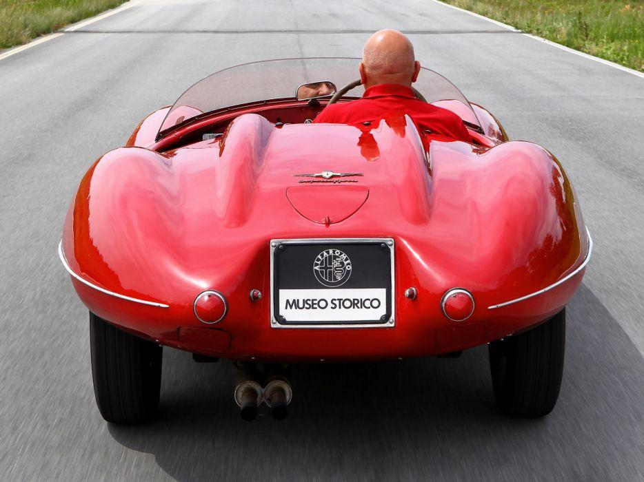 1951 Alfa Romeo 1900 C52 Disco Volante Spider retro supercar supercars   d wallpaper
