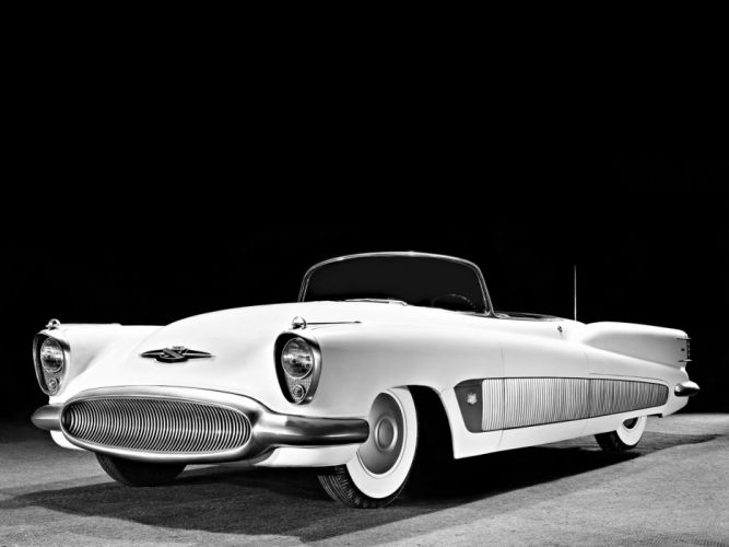 1951 Buick XP-300 Concept Car retro wallpaper