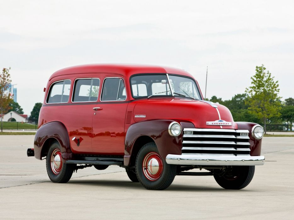 1951 Chevrolet Suburban Carryall suv truck wallpaper