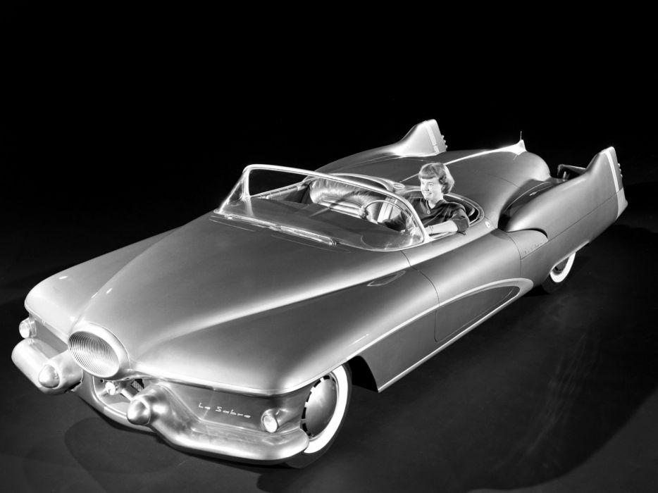 1951 GM LeSabre Concept Car general motors retro   g wallpaper
