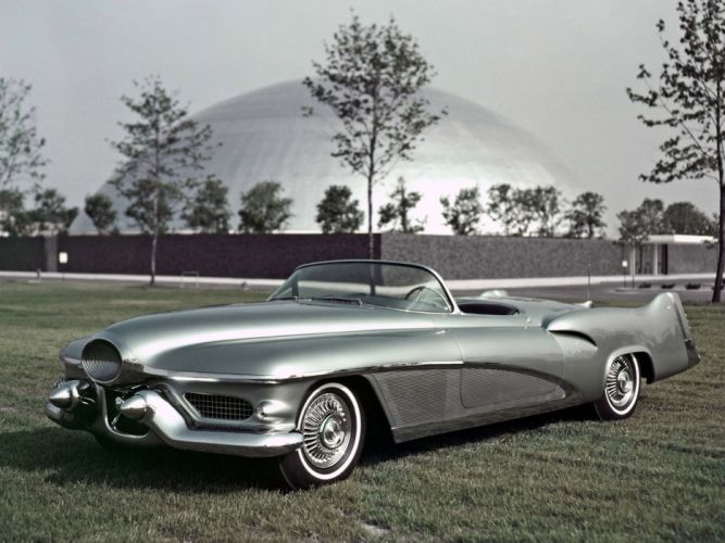 1951 GM LeSabre Concept Car general motors retro f wallpaper