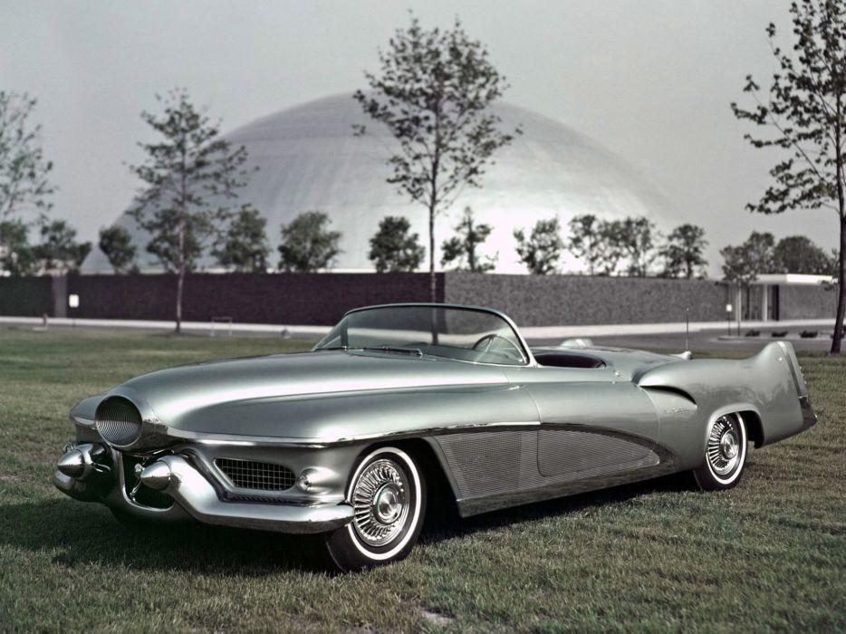 1951 GM LeSabre Concept Car general motors retro  f wallpaper