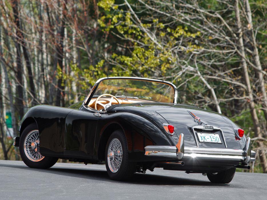 1951 Jaguar XK 150 Roadster x-k retro   g wallpaper