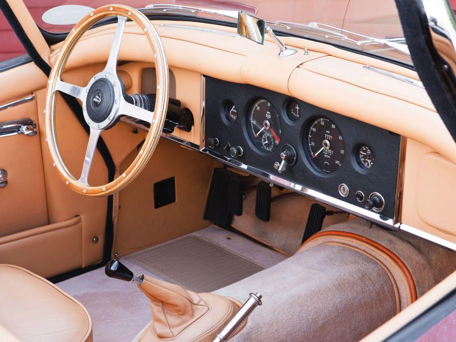 1951 Jaguar XK 150 Roadster x-k retro interior wallpaper